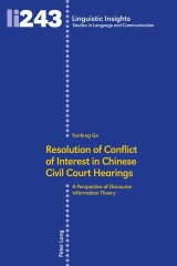 Resolution of Conflict of Interest in Chinese Civil Court Hearings