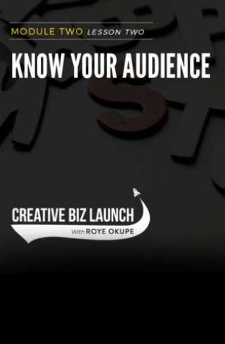 CBL #2 L2 - Know Your Audience