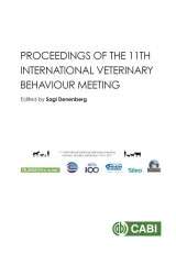 Proceedings of the 11th International Veterinary Behaviour Meeting