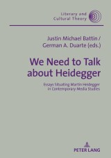 We Need to Talk About Heidegger