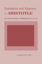 Substance and Essence in Aristotle