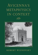 Avicenna's Metaphysics in Context