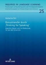 Genustransfer durch «Thinking for Speaking»