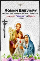 The Roman Breviary: in English, in Order, Every Day for January, February, March 2020