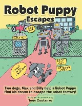 Robot Puppy Escapes