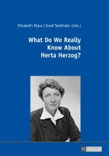 What Do We Really Know About Herta Herzog?
