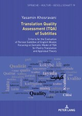 Translation Quality Assessment (TQA) of Subtitles