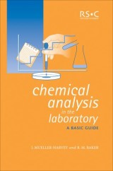 Chemical Analysis in the Laboratory