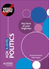 Need to Know: AQA A-level Politics