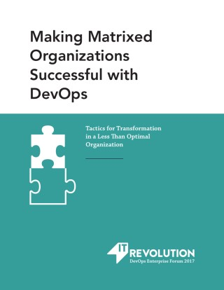 Making Matrixed Organizations Successful with DevOps