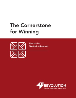 The Cornerstone for Winning