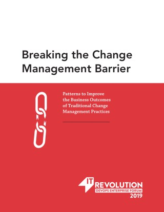 Breaking the Change Management Barrier