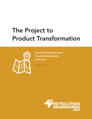 Project to Product Transformation