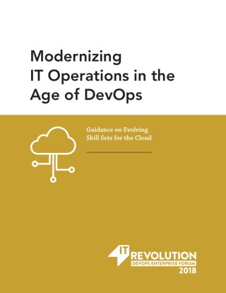 Modernizing IT Operations in the Age of DevOps