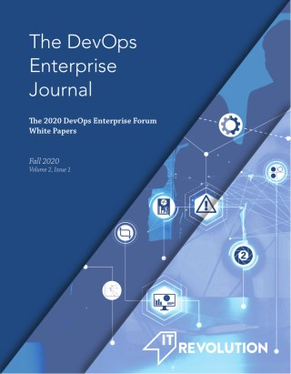 The DevOps Enterprise Journal - Fall 2020