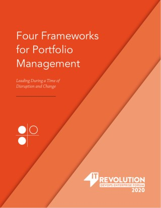 Four Frameworks for Portfolio Management