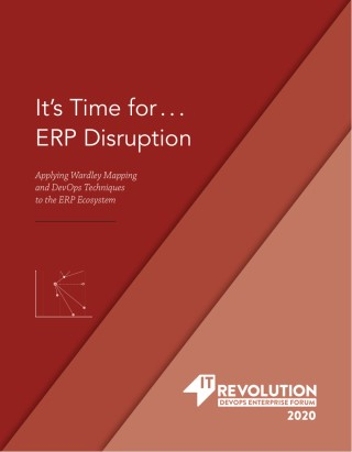 Its Time For...ERP Disruption